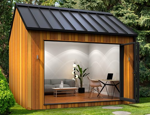 GARDEN OFFICES AND FLEXIBLE WORKING FROM HOME