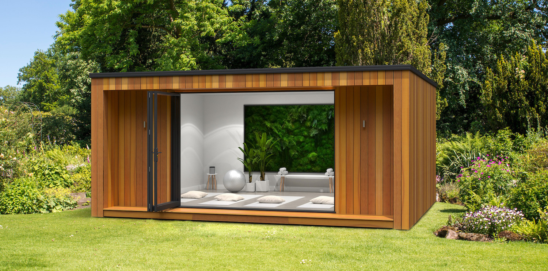 Outdoor garden rooms in Essex