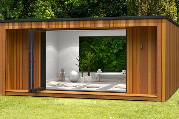 Modern garden health studios