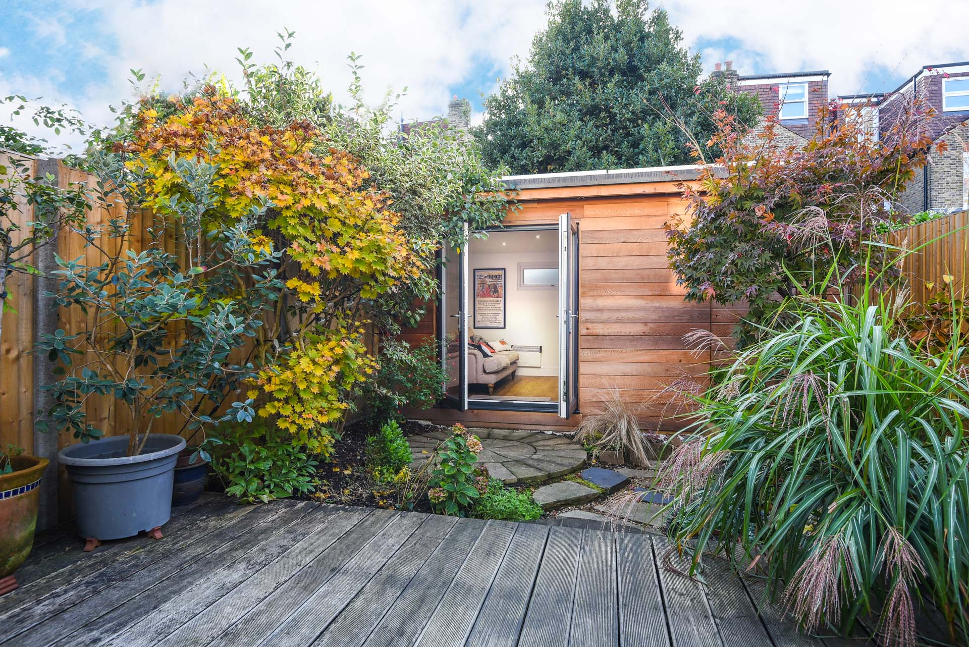 Garden room annexes