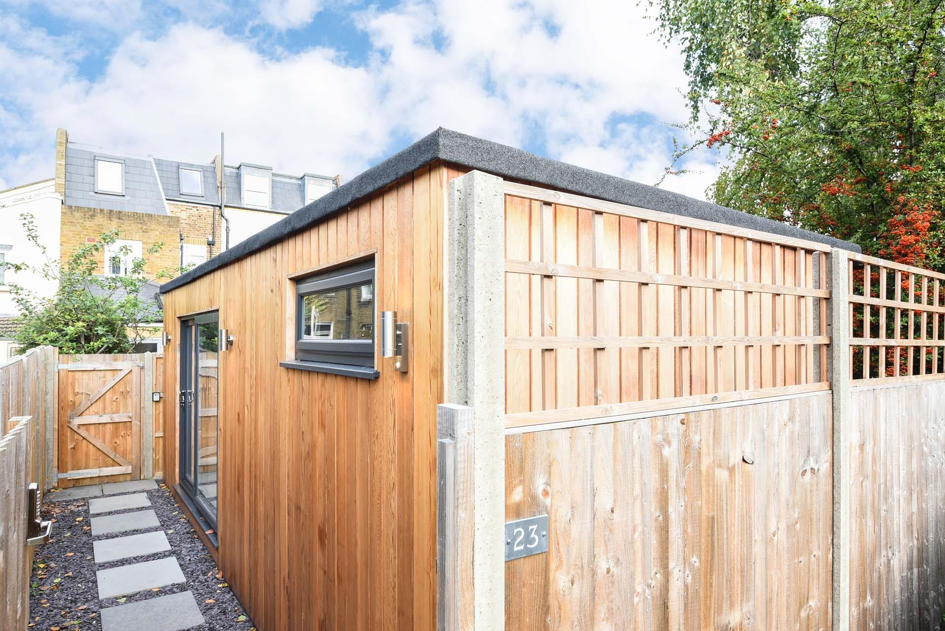 Garden room annex in Essex