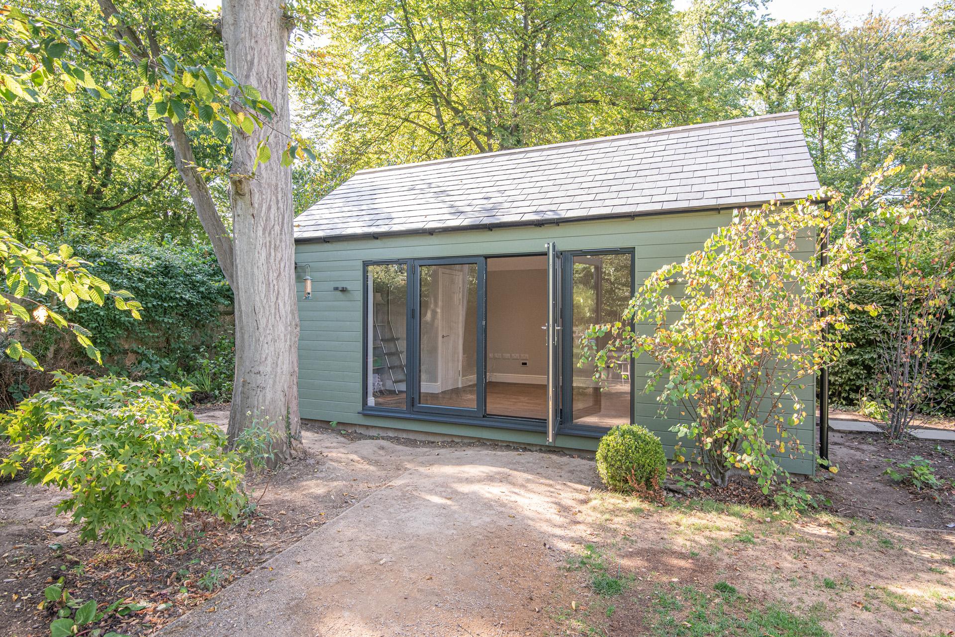 Bespoke garden room in Essex