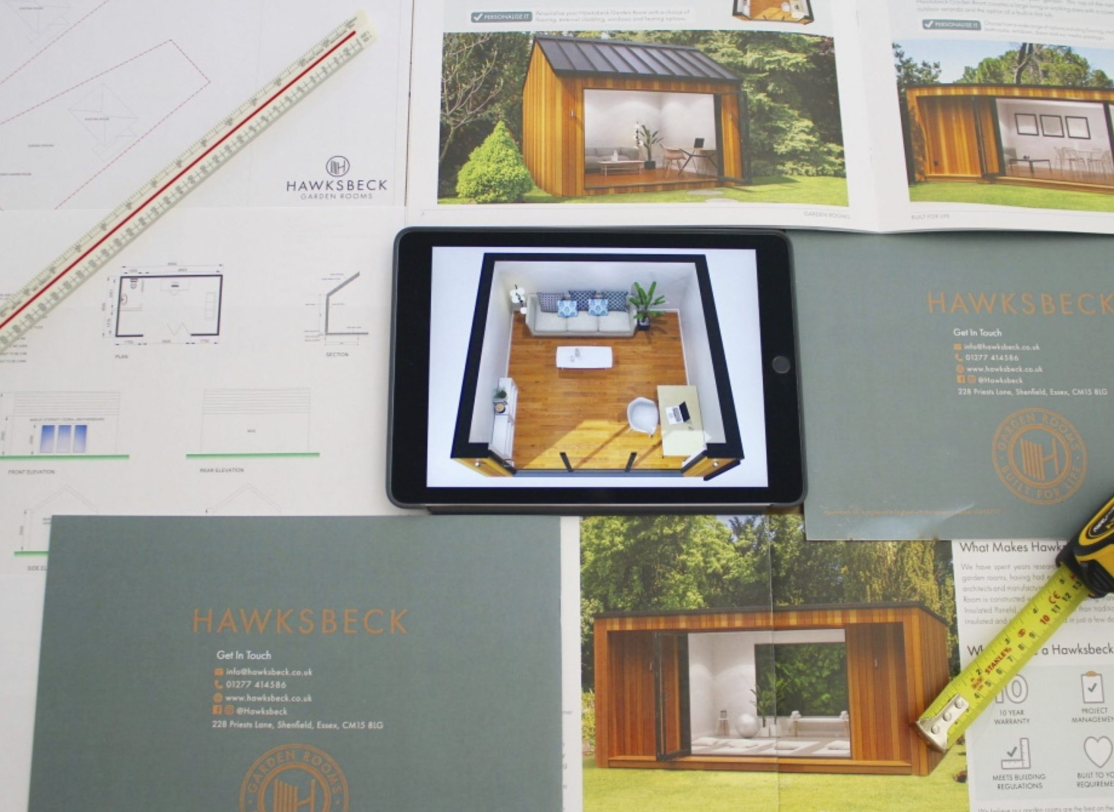 Garden rooms architect designs