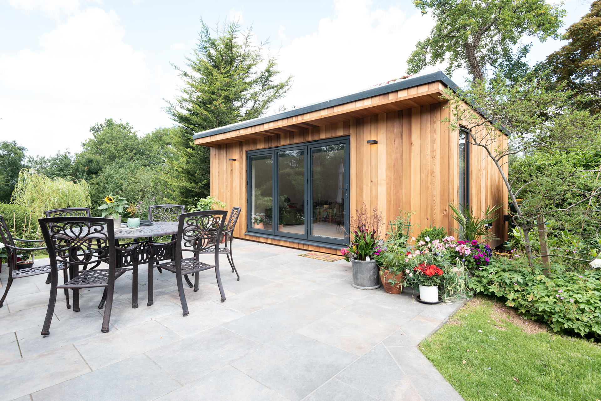 Modern garden room in Essex.