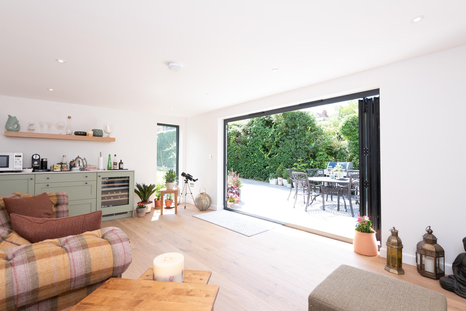 Garden room in Upminster, Essex