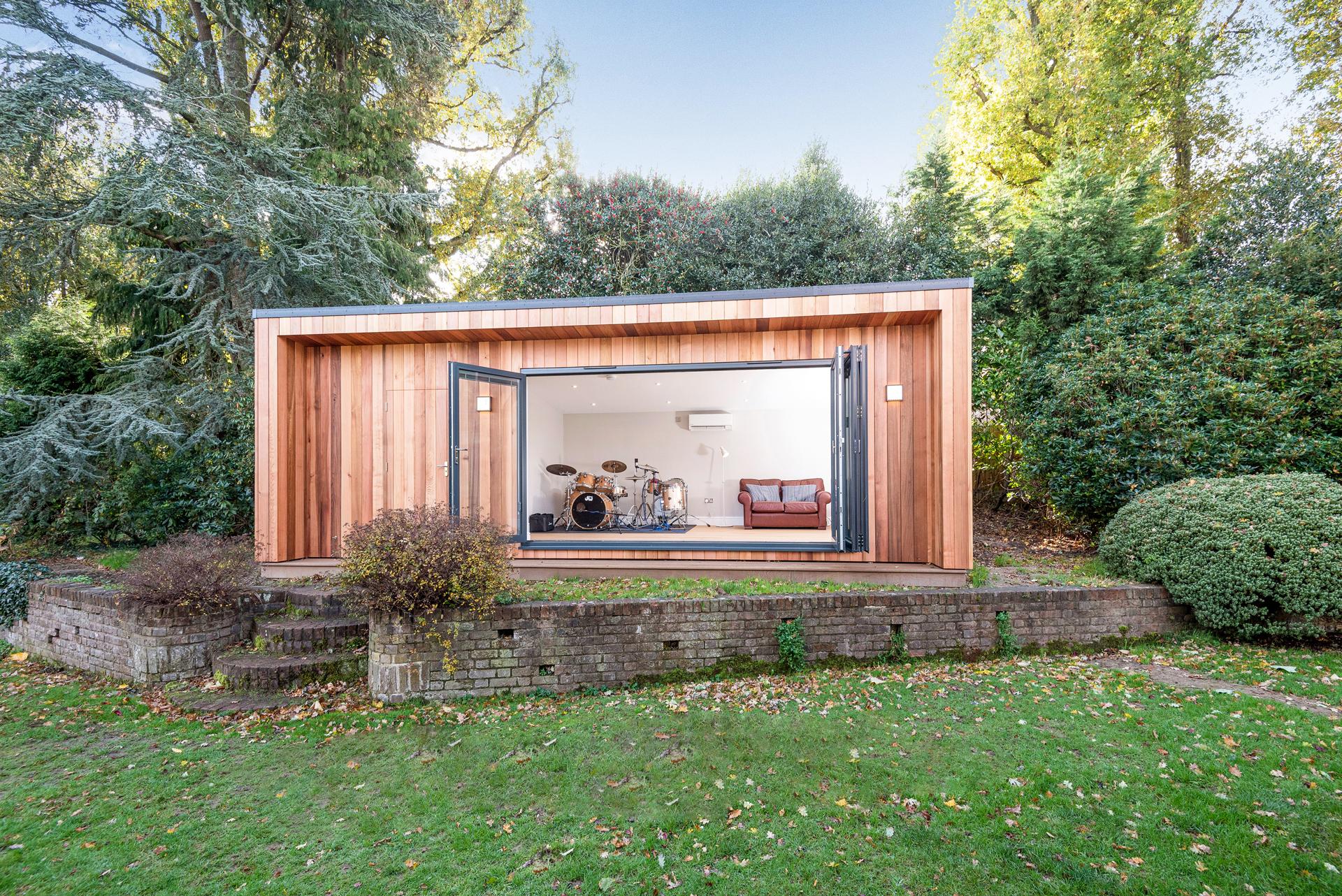 Luxury garden room in Essex.