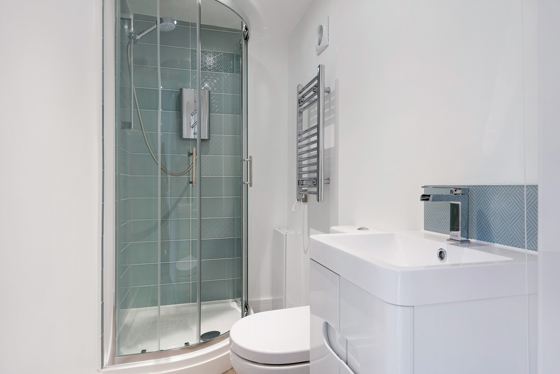 Garden room ensuite bathrooms in Essex.