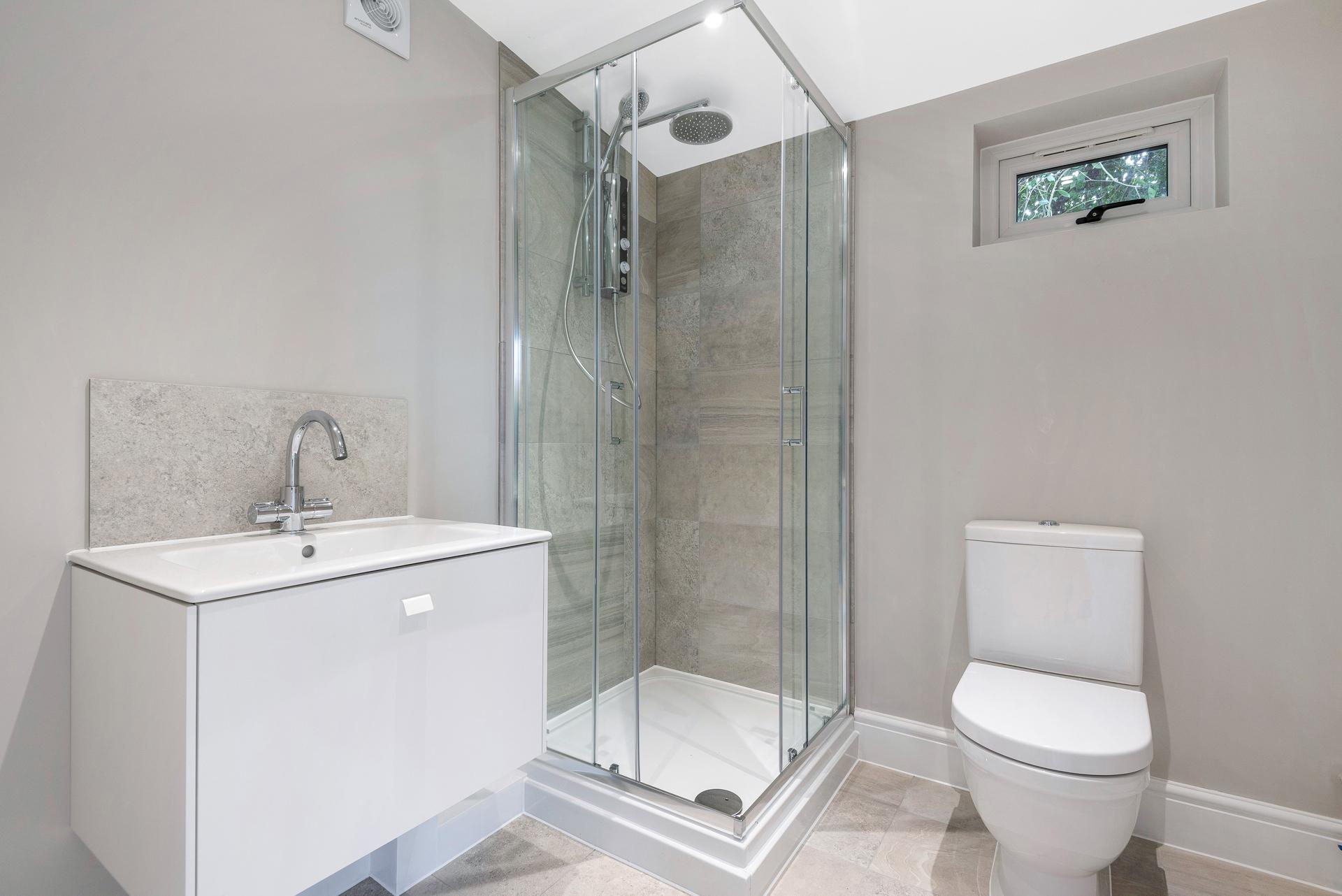 Bespoke garden room bathrooms in Essex.