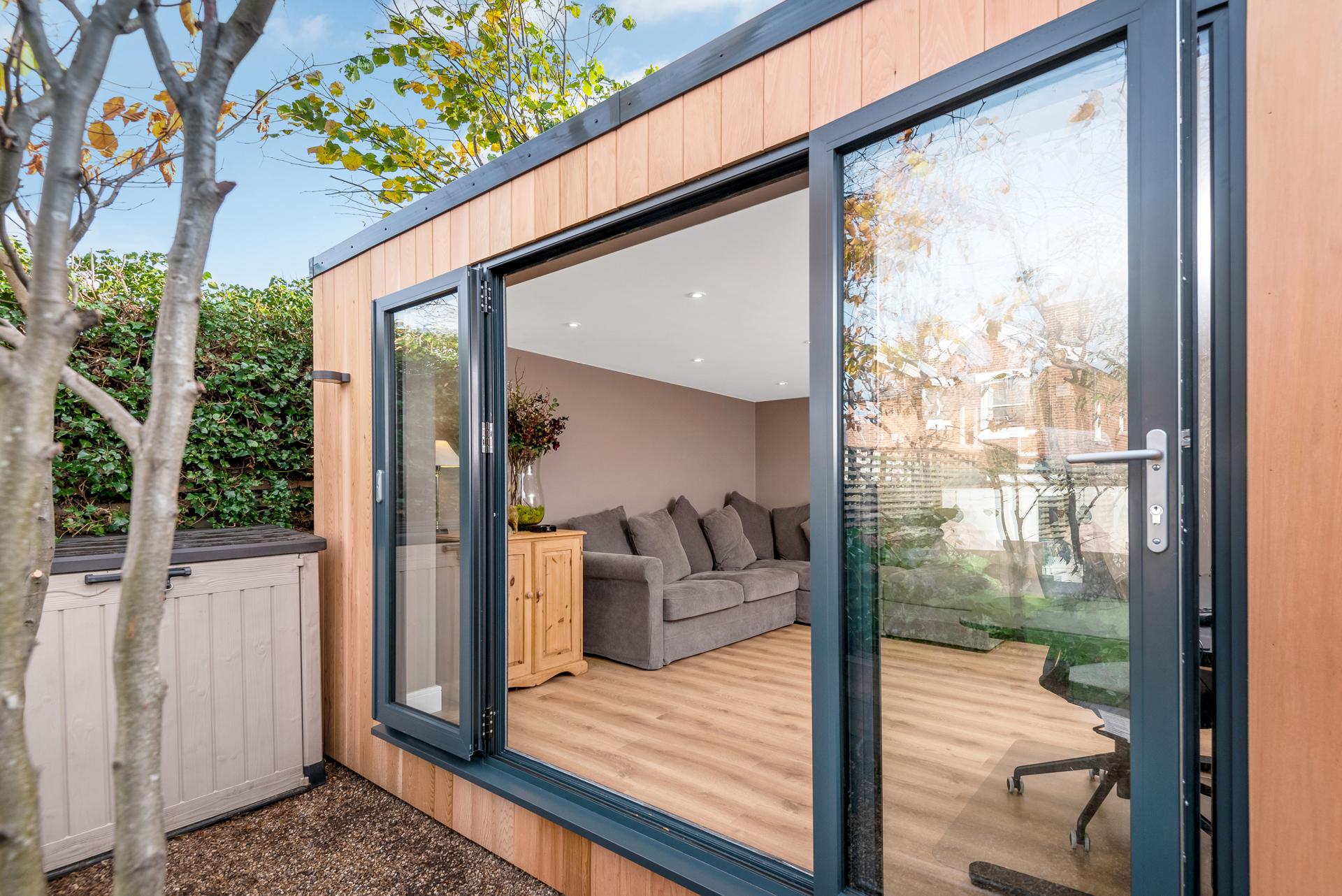Garden rooms designed in Essex