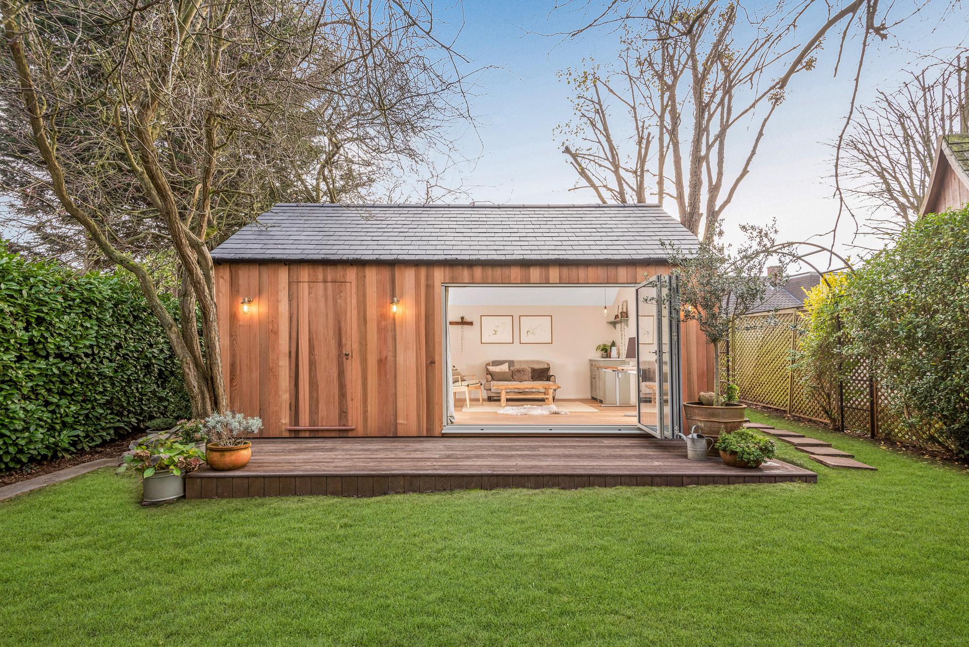 Bespoke garden rooms in Essex