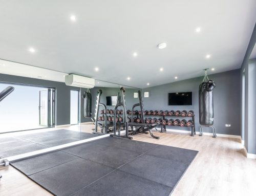 THE RISE OF THE GARDEN ROOM GYM