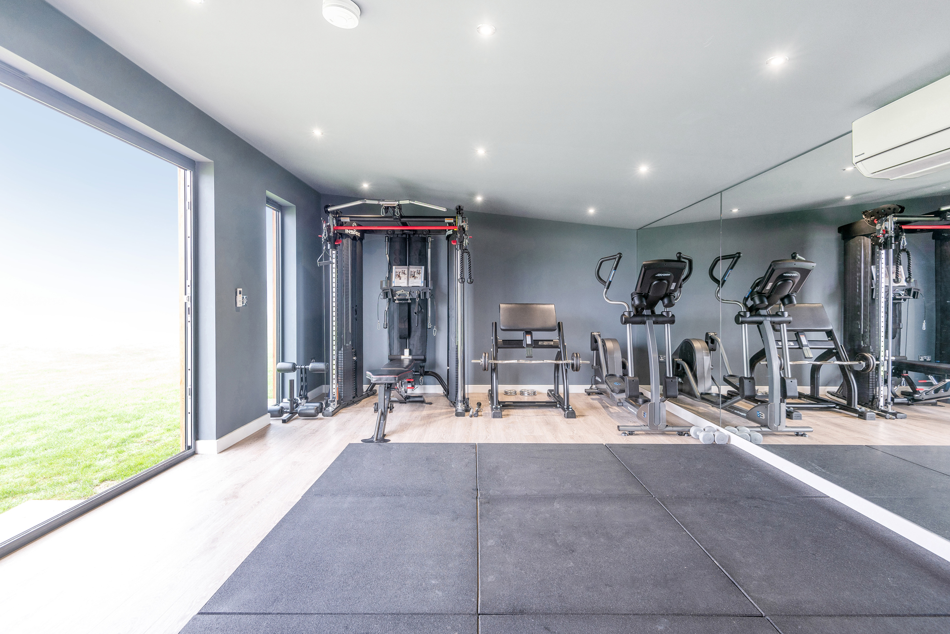 Bespoke design garden room gym
