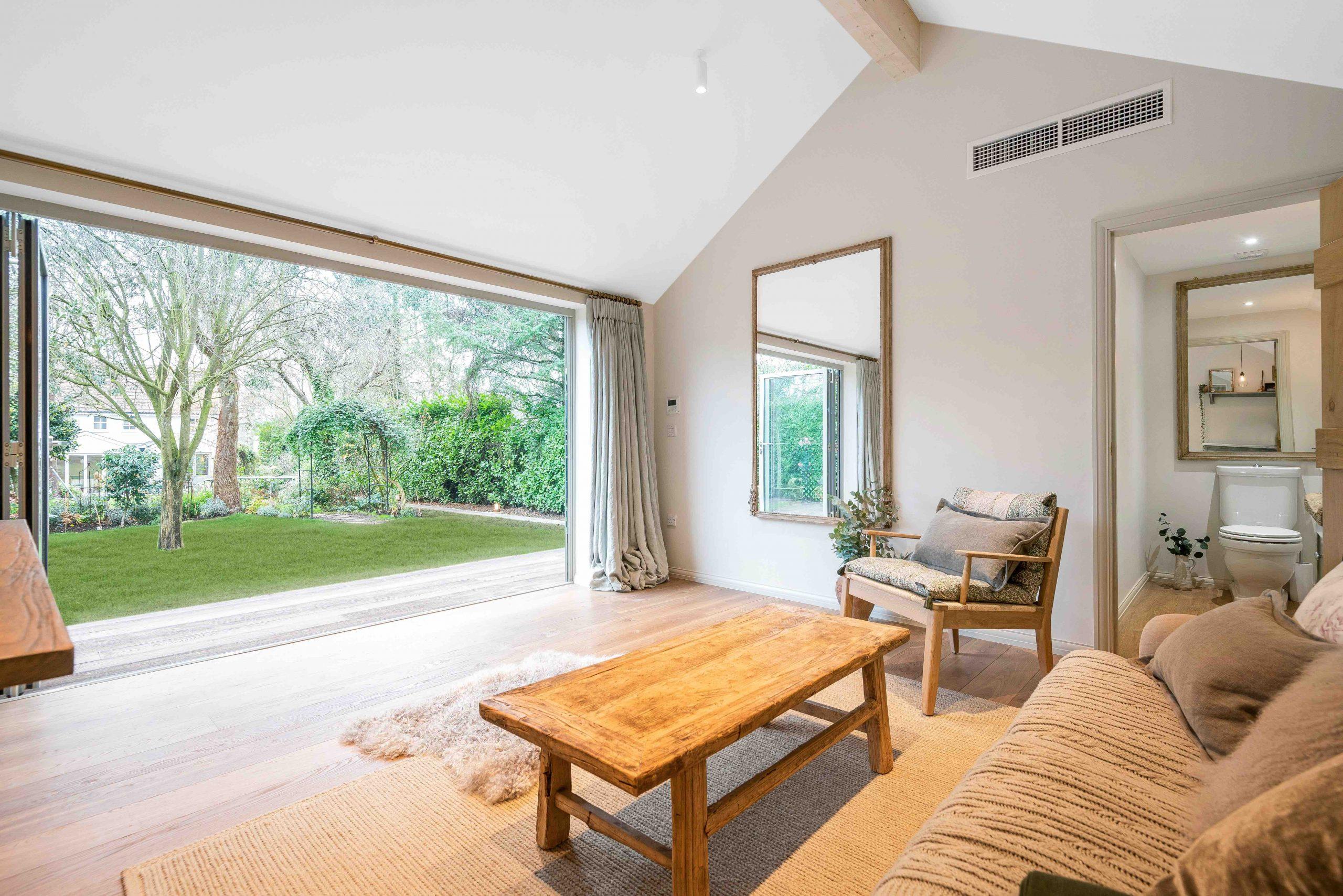 Garden room pod in Essex