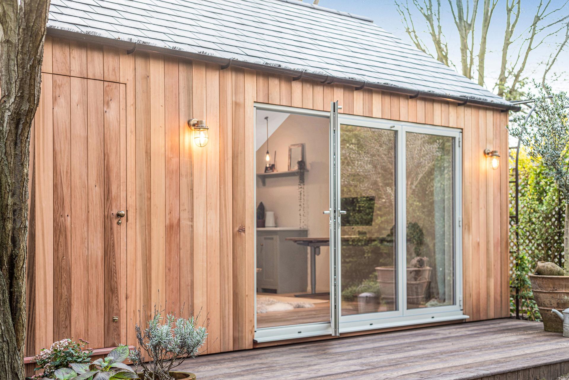 Garden office pods in Essex