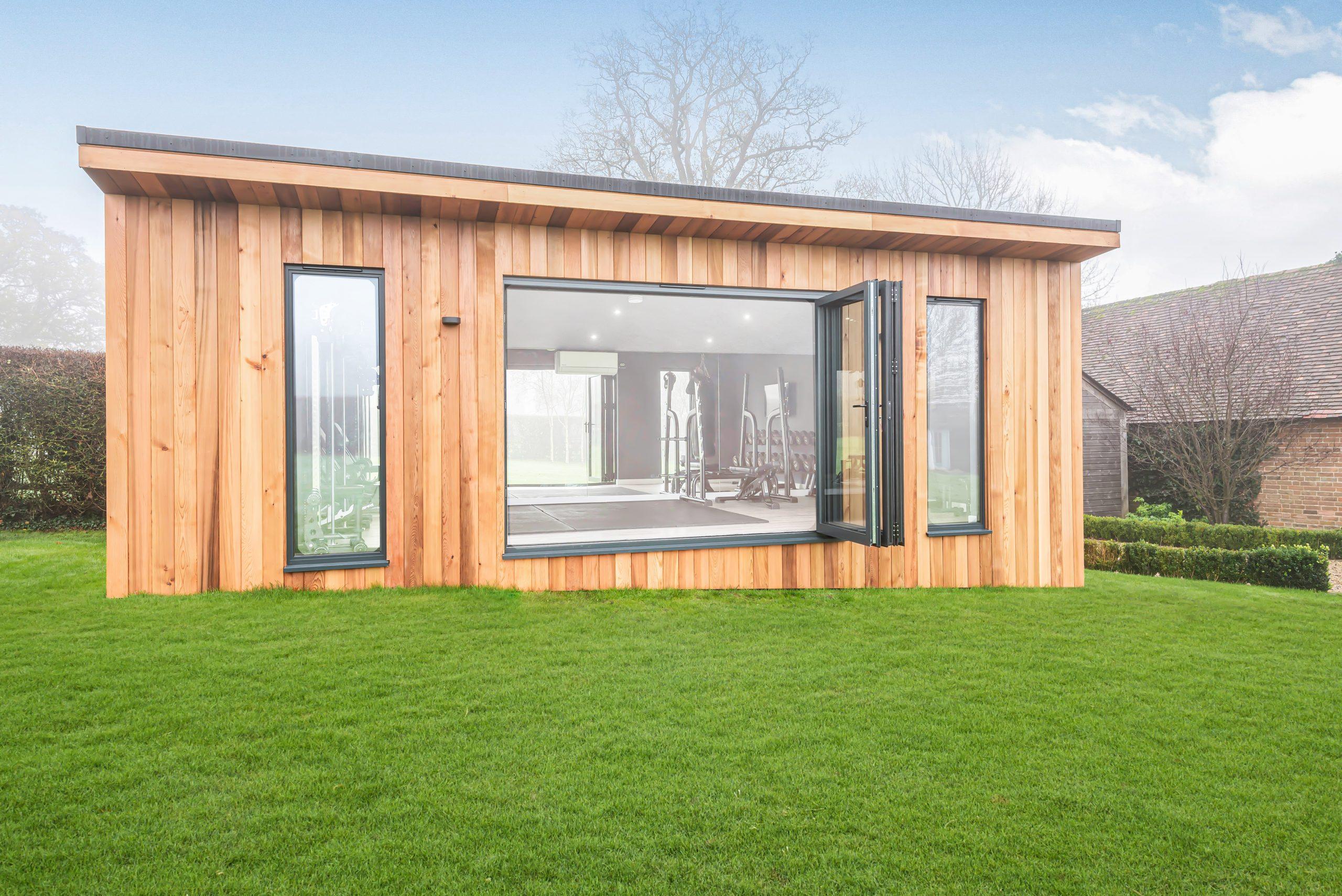 Bespoke large garden office in Essex