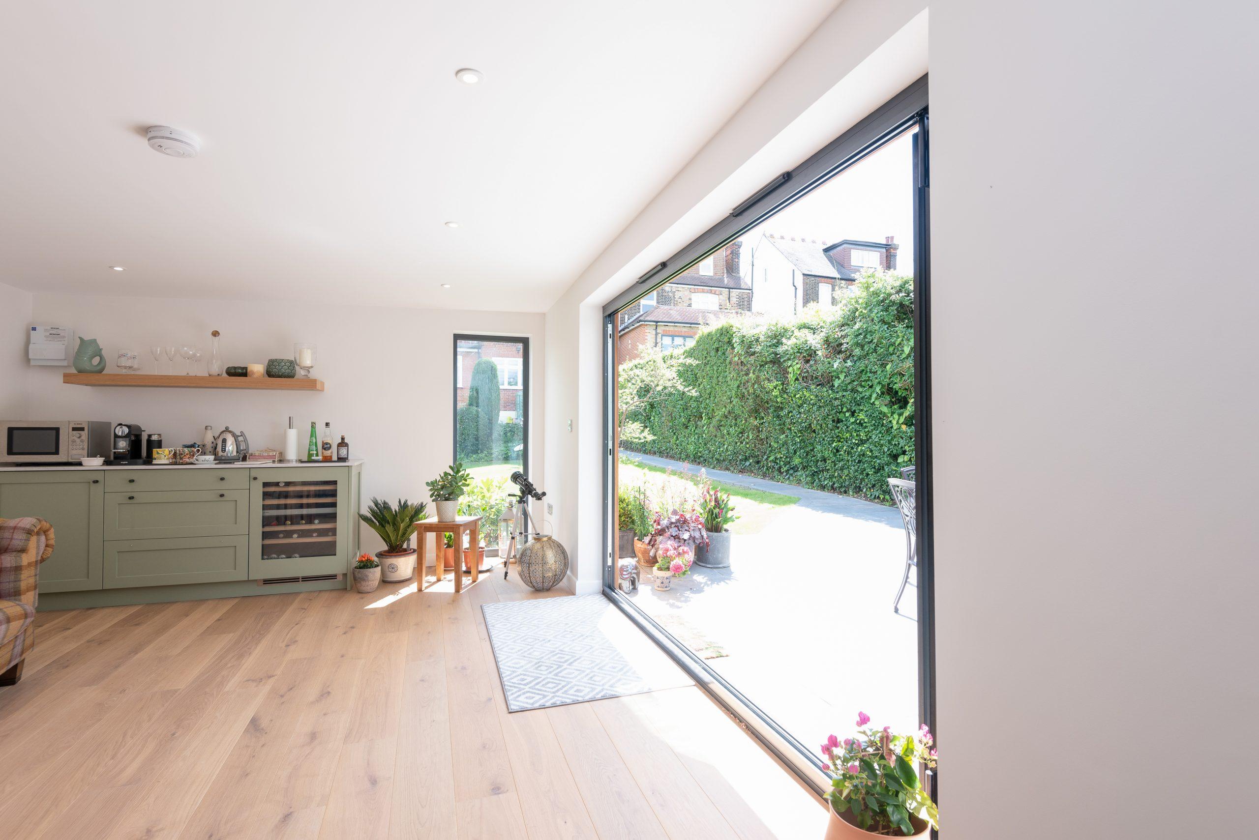 Contemporary garden room design