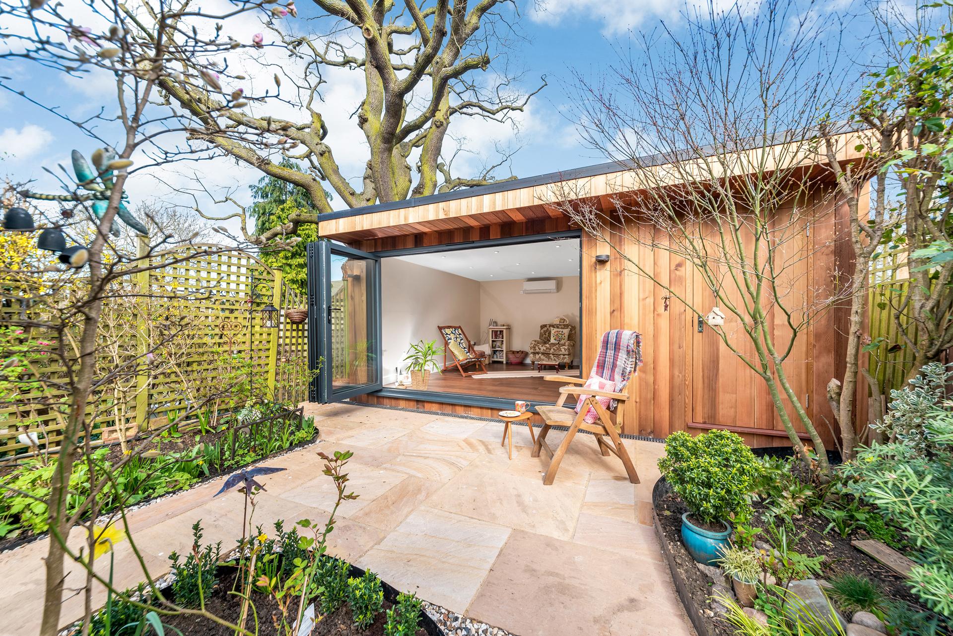 Luxury bespoke garden rooms in Essex