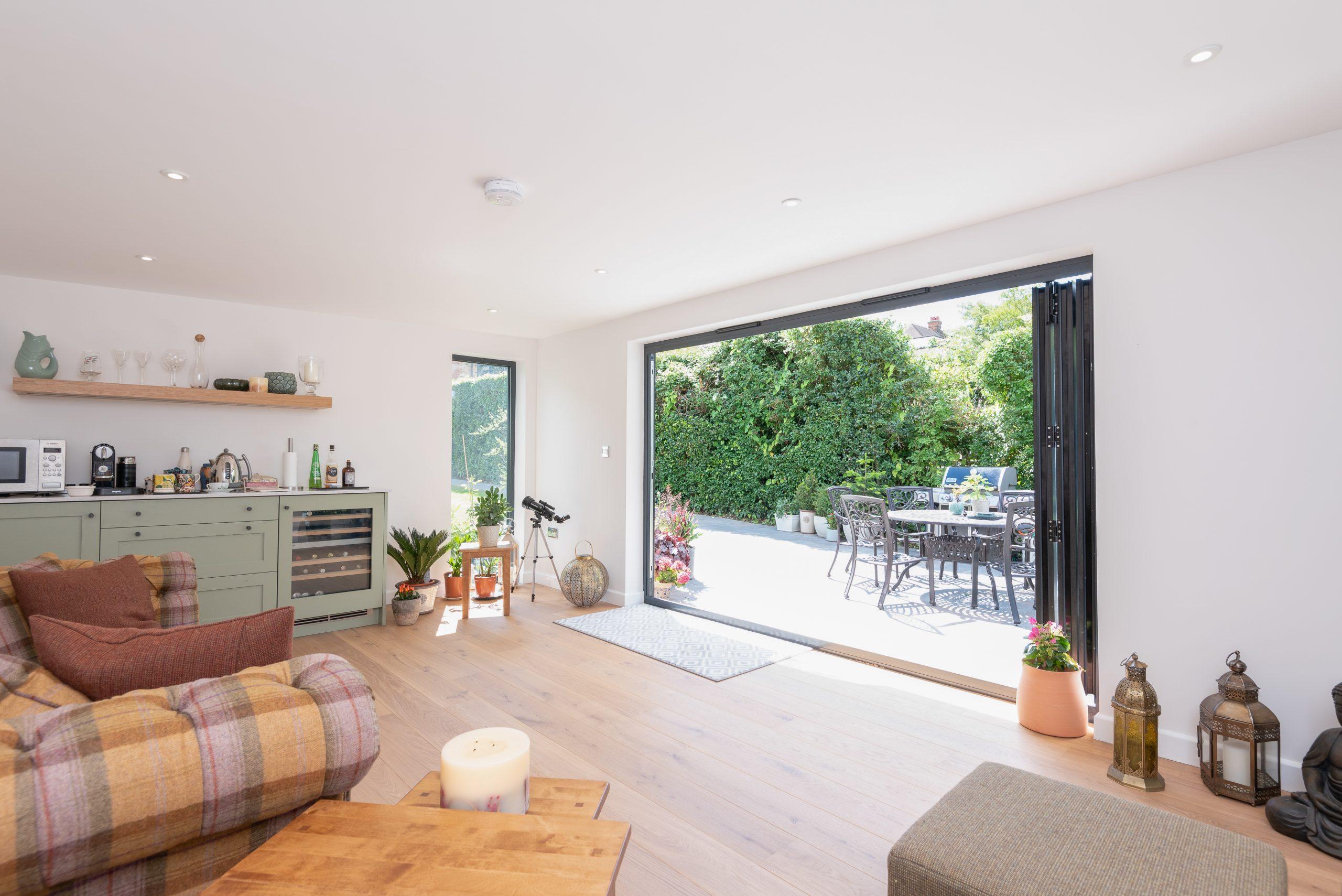 Contemporary garden room, Essex
