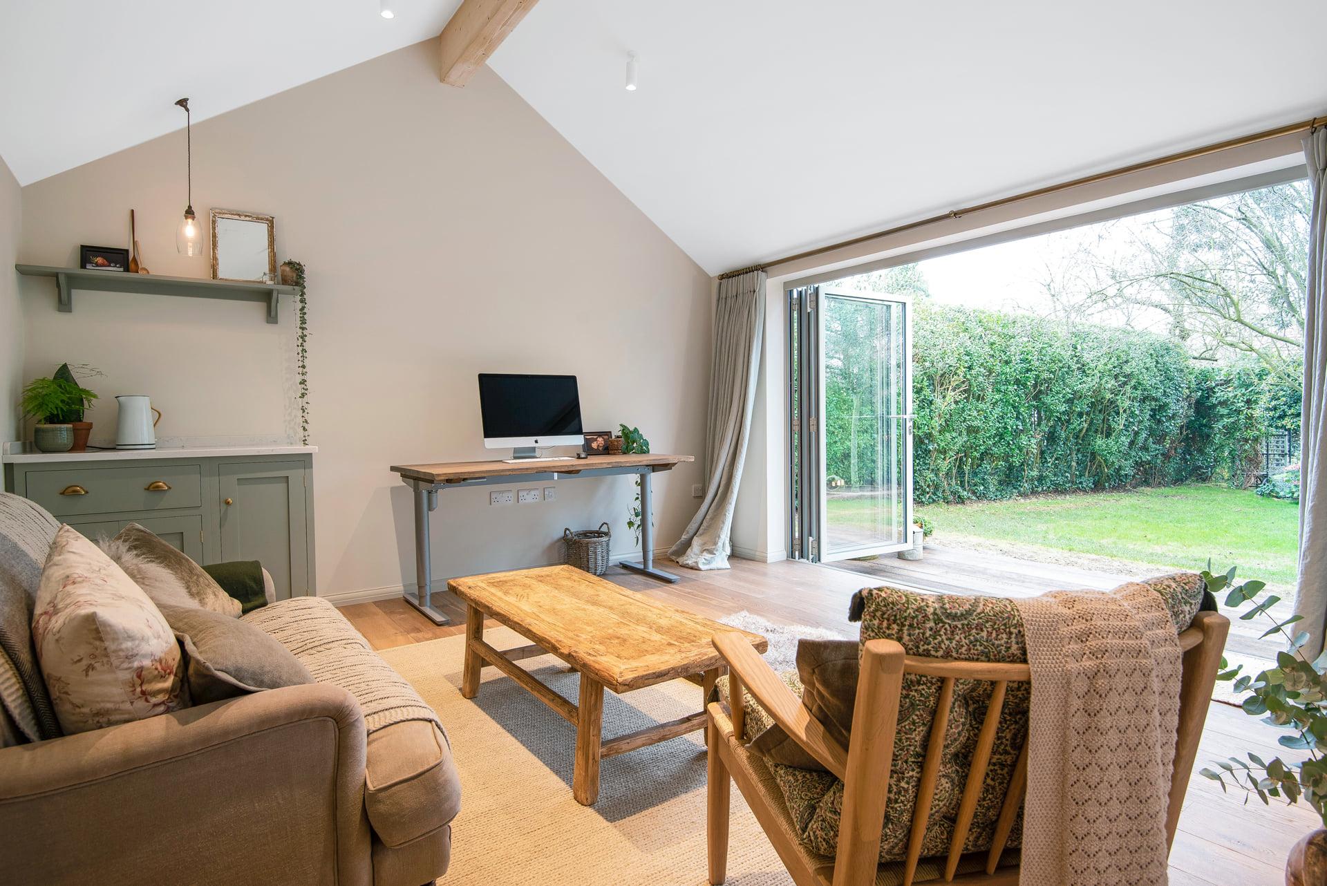 Modern garden room design