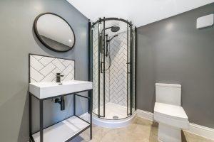 Ensuite Garden Room shower room, Essex
