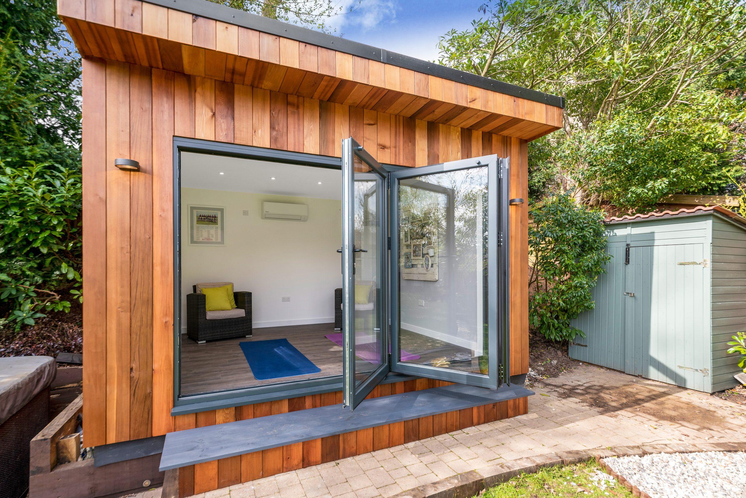 Bifold Door Garden Room, Essex