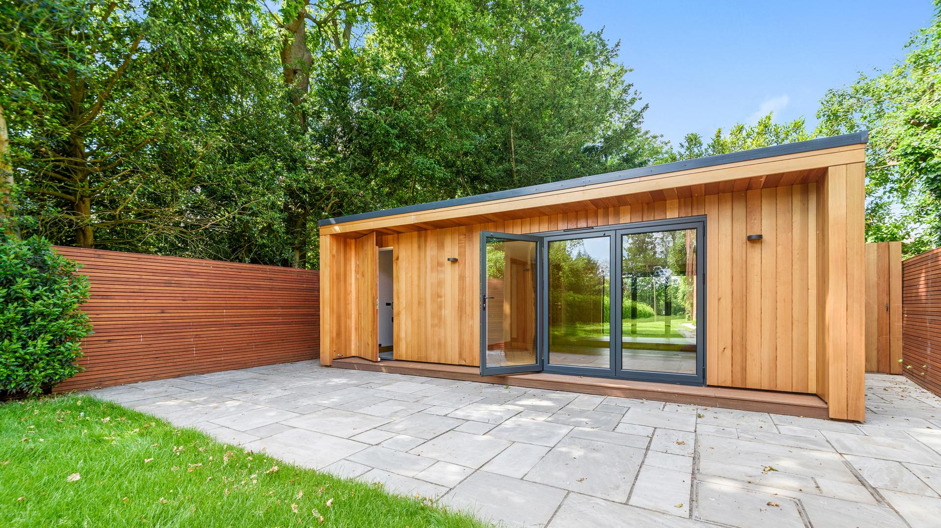 Essex large garden room