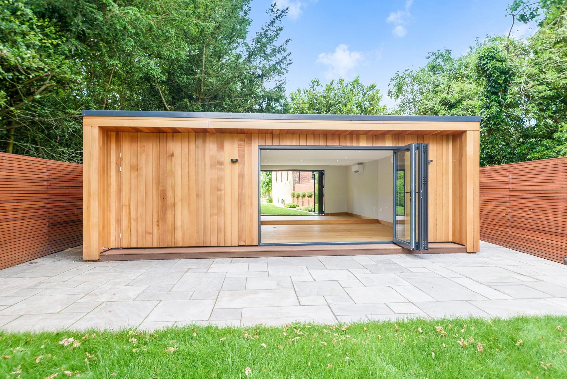 Modern garden room in Essex