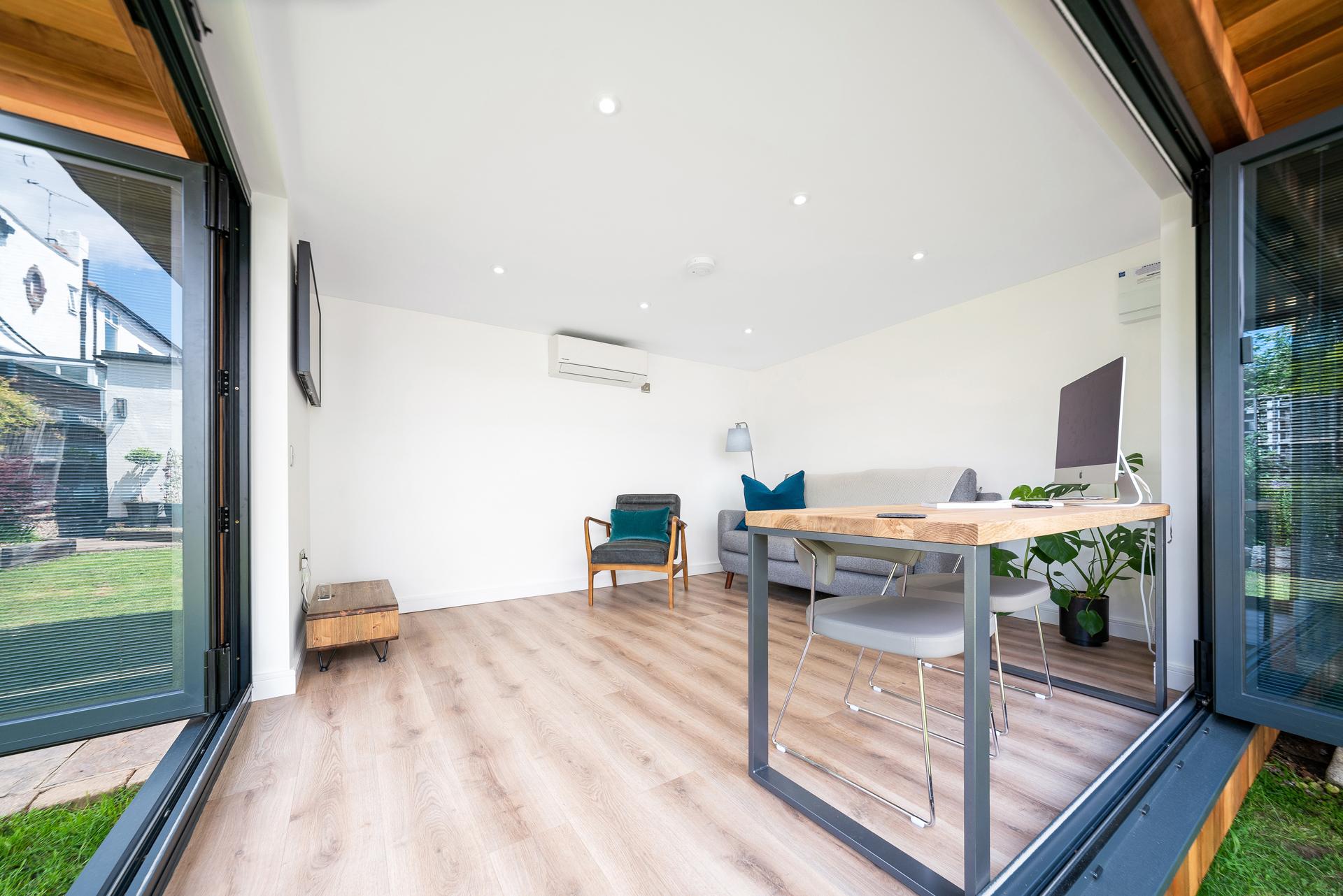 Luxury garden office in Essex