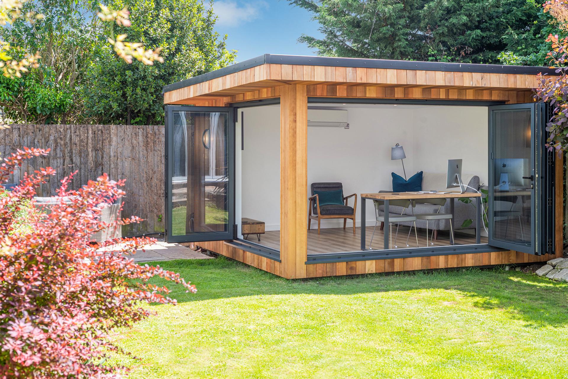 Zen garden office space, Leigh-on-Sea