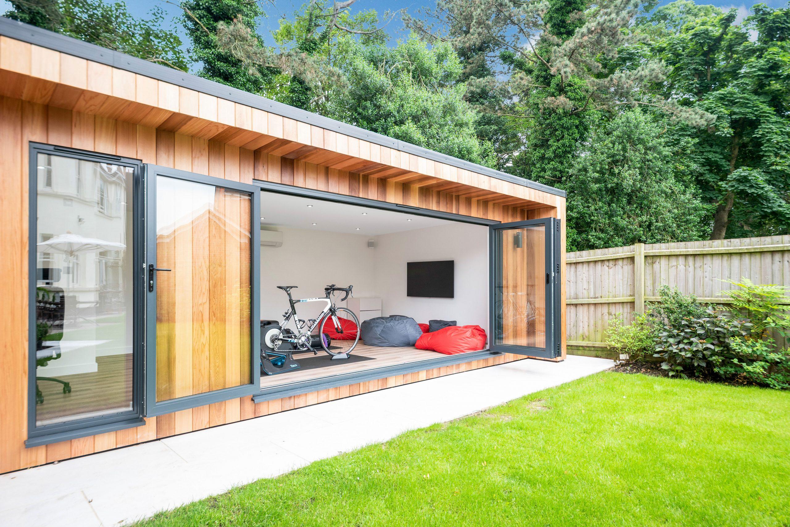 multi-functional garden room in Essex