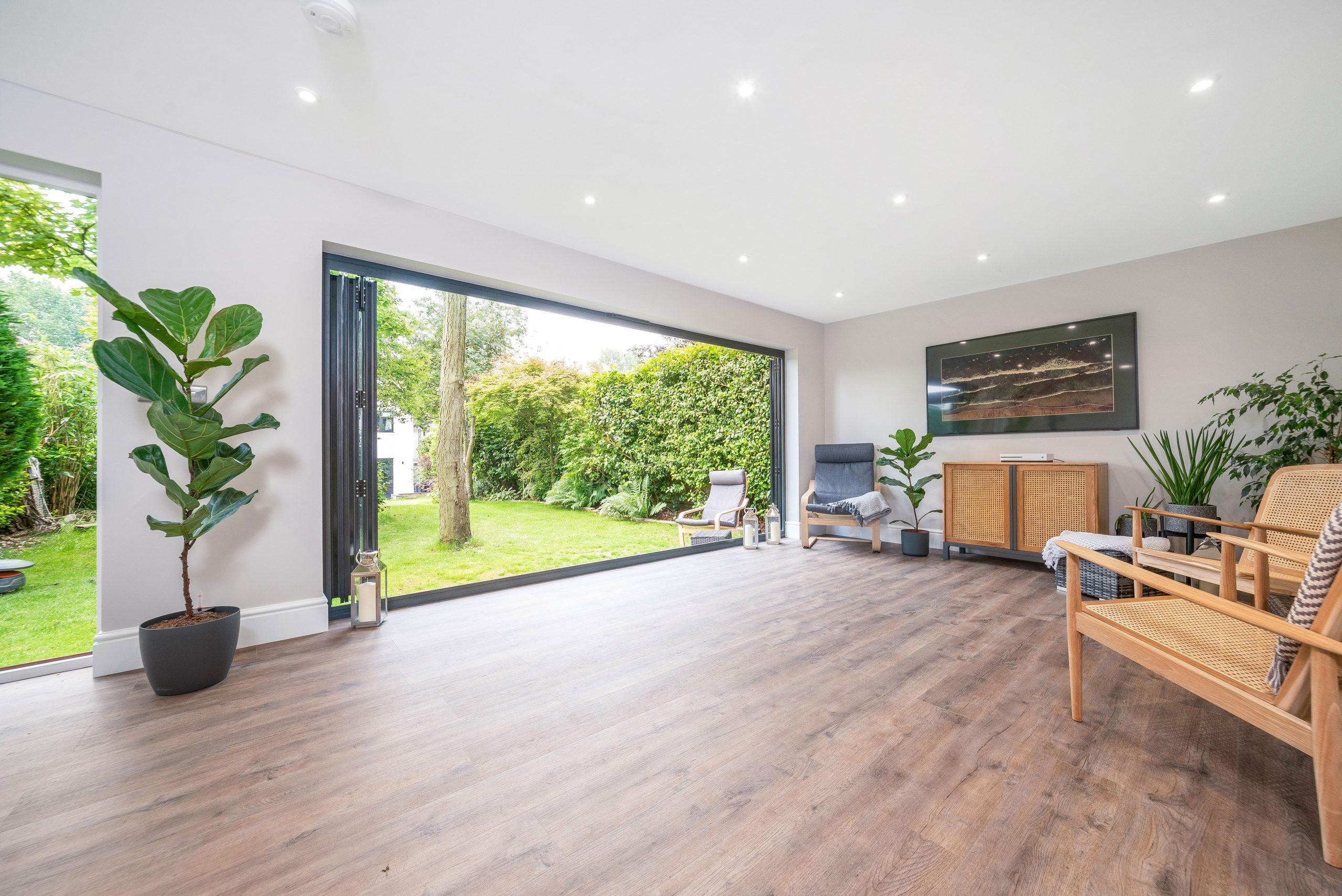 Luxury garden studio room