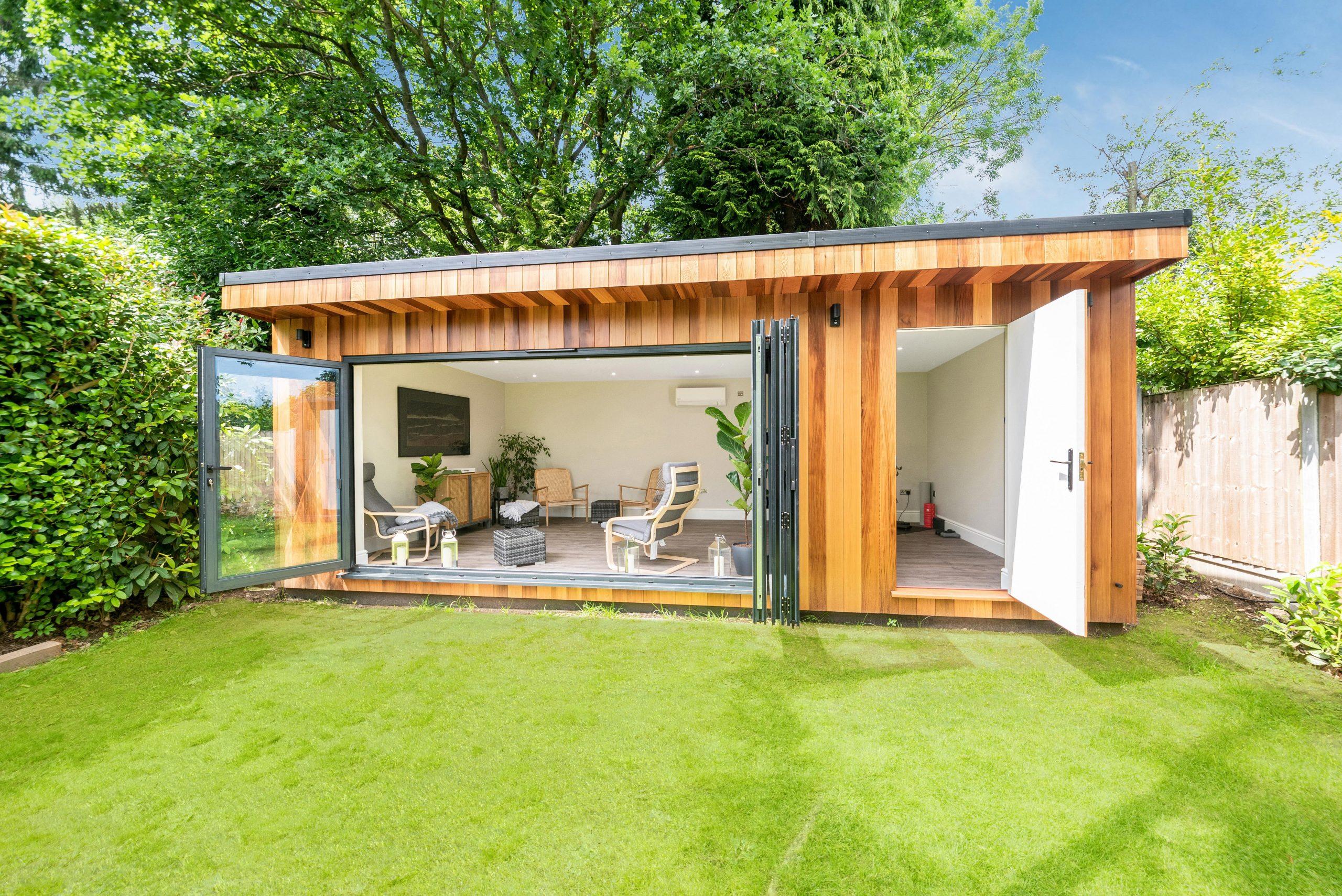 Luxuyr garden studio in Essex